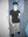 """Danny"" on Autobody Wall"